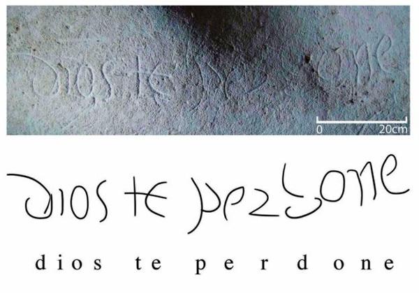 El curioso mensaje escrito en la cueva donde nació la cultura americana - 2