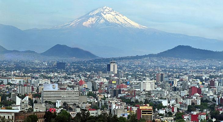 El-Popocatepetl,-Mexico
