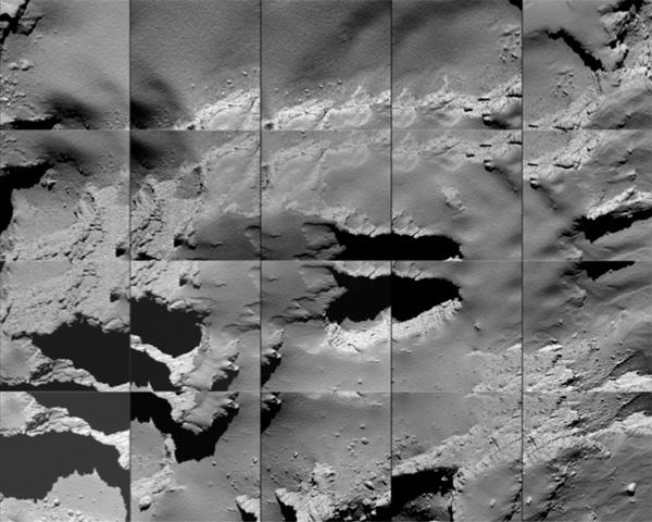 Así son las últimas imágenes enviadas por la sonda Rosetta antes de ser desactivada - 1