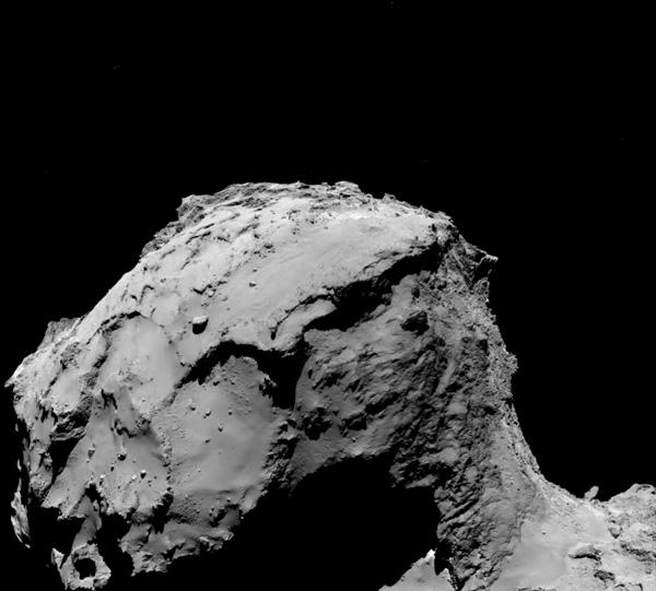 Así son las últimas imágenes enviadas por la sonda Rosetta antes de ser desactivada - 2