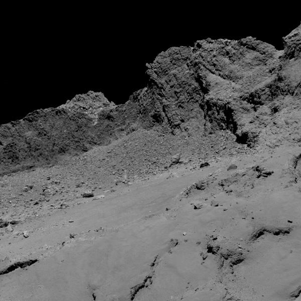 Así son las últimas imágenes enviadas por la sonda Rosetta antes de ser desactivada - 3