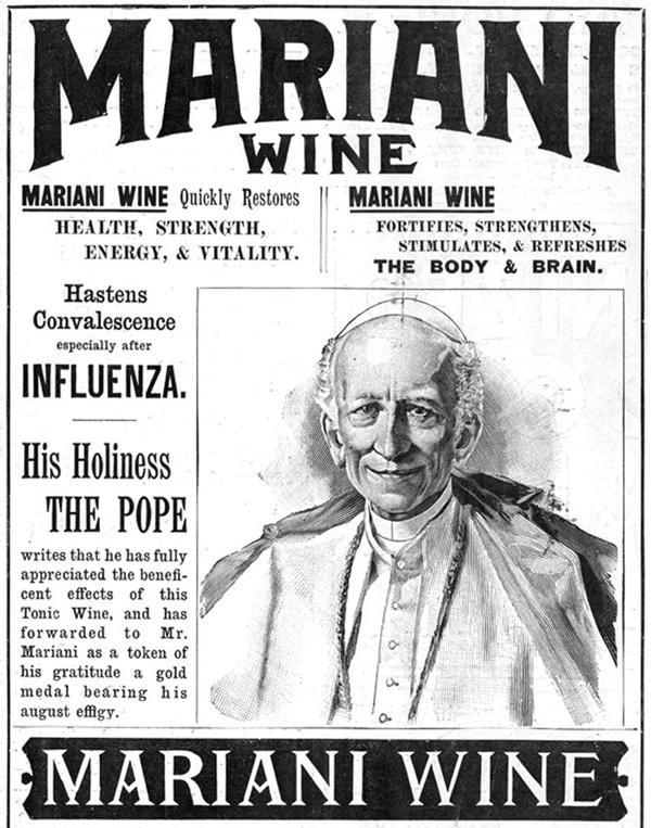 La bebida prohibida de los Papas - 1