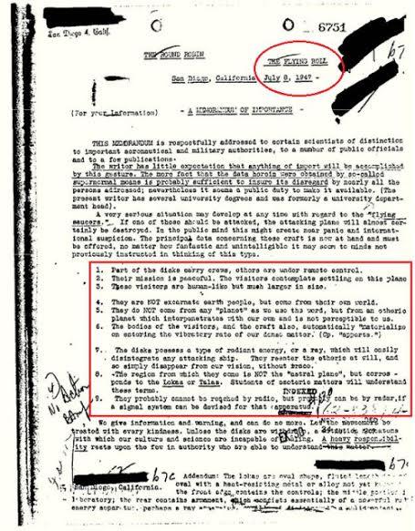 Fantástico informe desclasificado del FBI registra la existencia de seres inter-dimensionales visitando la Tierra - 3