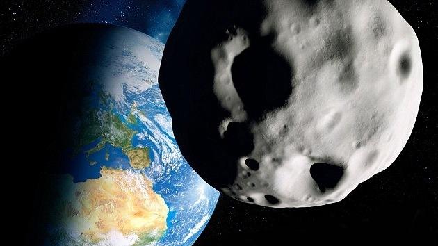 Nasa satelite en vivo asteroide
