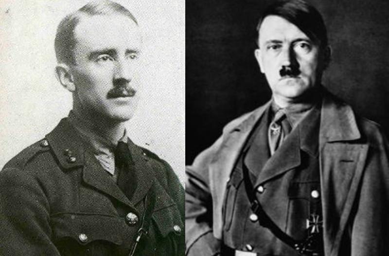 Hitler Tolkien Batalla del Somme