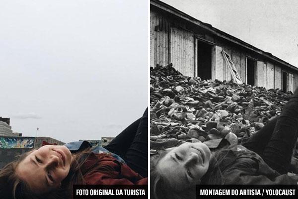 Selfies em memorial do holocausto viram projeto bombástico  - 1