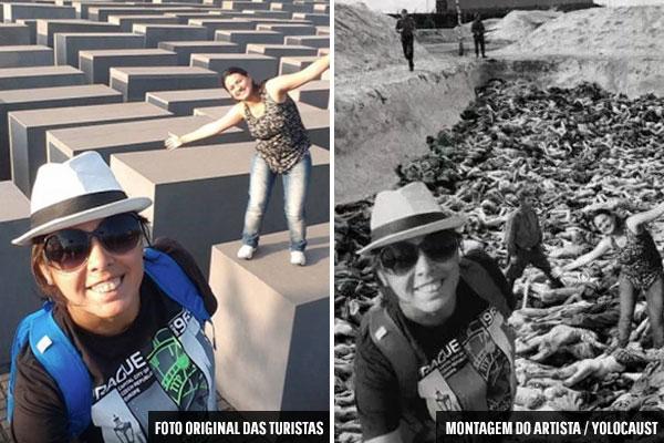 Selfies em memorial do holocausto viram projeto bombástico  - 3