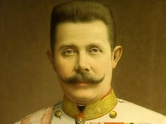 Imagen del archiduque Francisco Fernando de Austria.