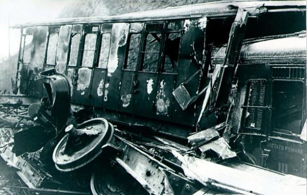 Imagen de la mayor tragedia ferroviaria de Europa en Francia, en diciembre de 1917.