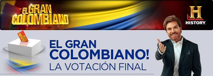 El gran colombiano la votación final