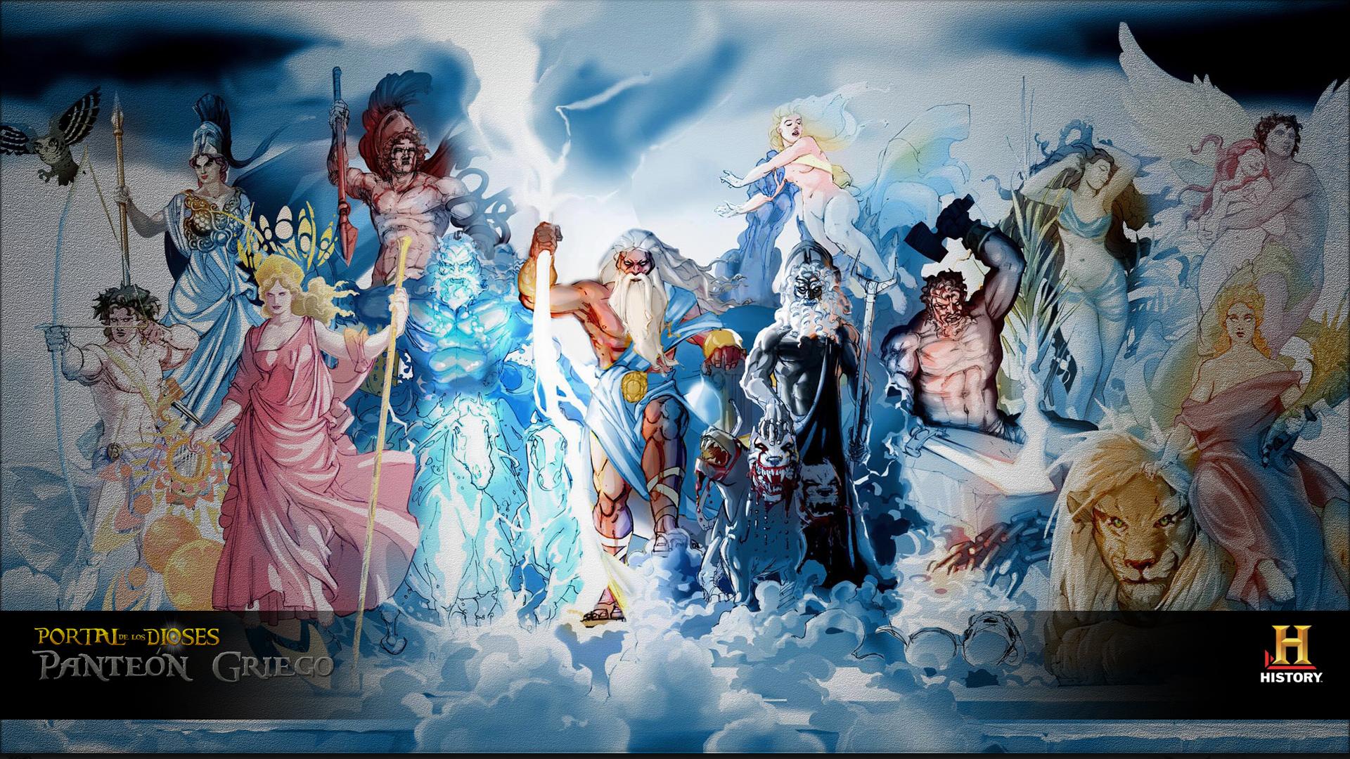 Resultado de imagen de Los dioses mitológicos
