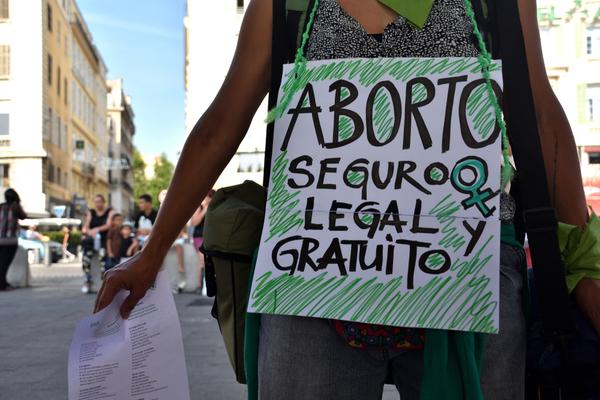 MANIFESTACIÓN POR EL ABORTO