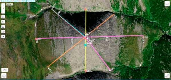 Hallan una pirámide natural, dos veces más grande que la de Keops - 2