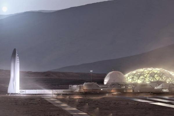 Assim serão as casas que Elon Musk pretende construir em Marte - 1