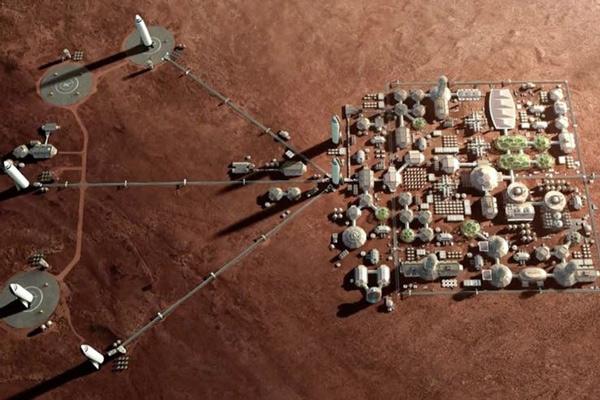 Assim serão as casas que Elon Musk pretende construir em Marte - 3