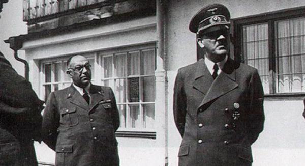Theodor Morell y Hitler