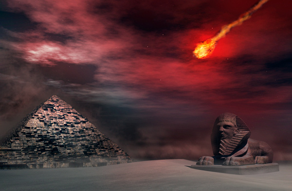 Descubren que los egipcios conocían la relación entre los meteoritos y el espacio - 1