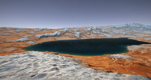 Hallazgo científico en Marte: el sitio donde pudo haber vida - 1