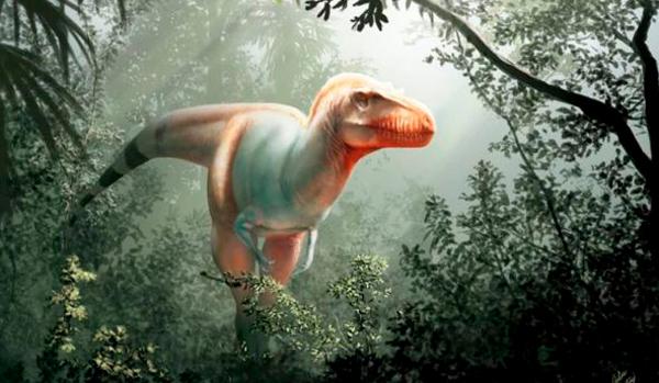 Descubren una temible nueva especie de dinosaurio - 1
