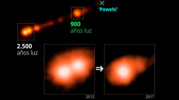 Descubren objetos que se mueven mucho más rápido que la luz - 1