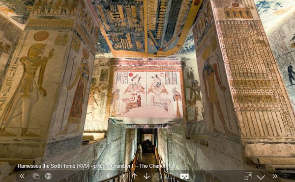Increíbles recorridos virtuales por el templo de Isis y otros monumentos egipcios - 1