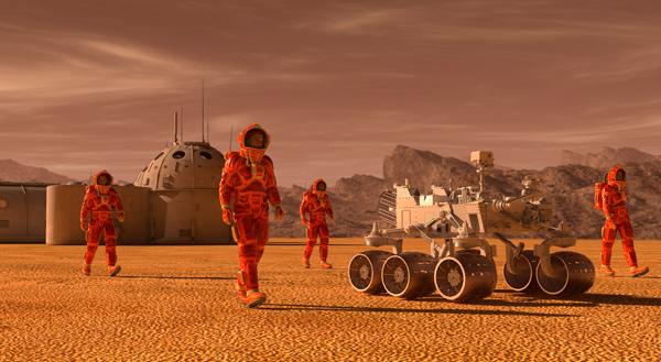 Descubren cómo generar combustible en Marte para abastecer a los cohetes que regresan a la Tierra - 1