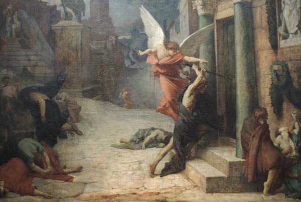 La peste en Roma