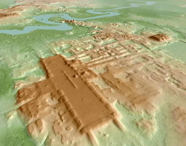 Imagen 3D del Yacimiento