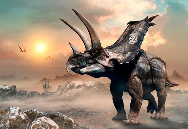 La extinción masiva que permitió a los dinosaurios dominar la Tierra - 1