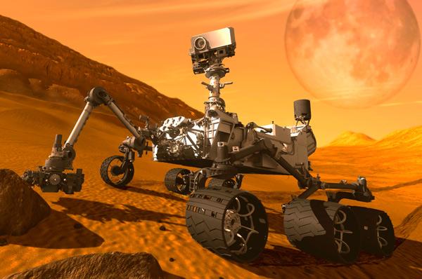 La NASA explica el origen del arcoíris fotografiado en Marte - 1