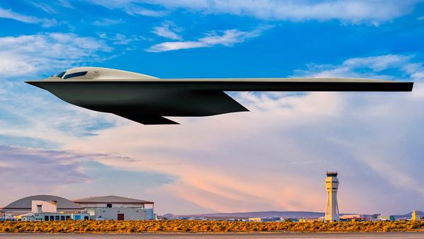 El B-21 Raider.