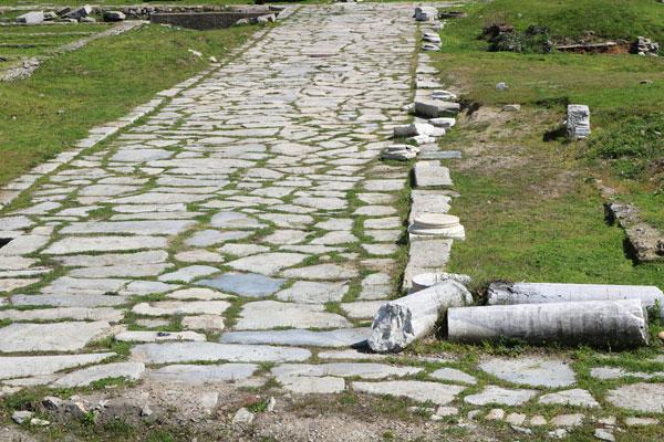 Hallan antigua calzada romana en el fondo de la laguna de Venecia - 1