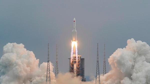 El cohete Gran Marcha-5B Y2.