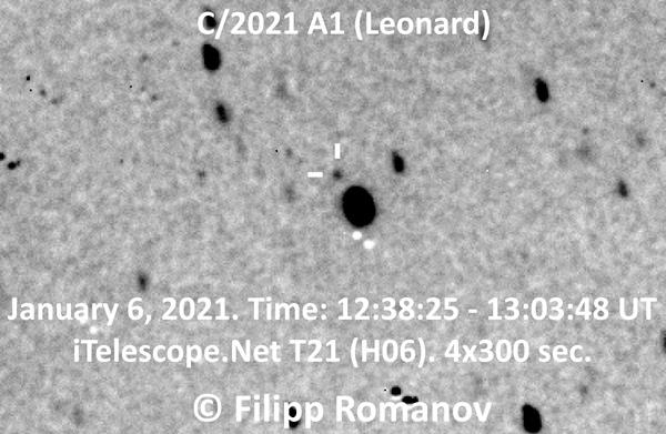 El cometa Leonardo será visible desde la Tierra este año - 1
