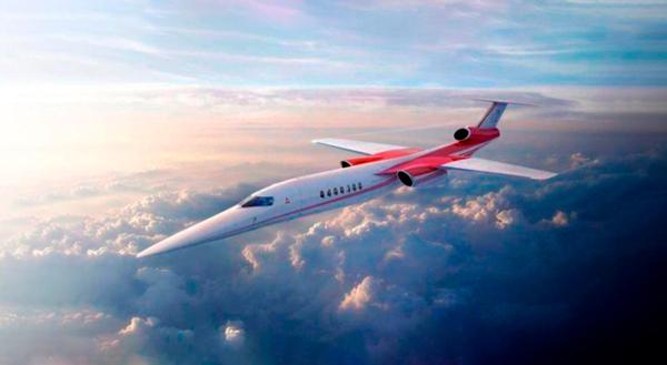Nuevo Concorde Supersonico.