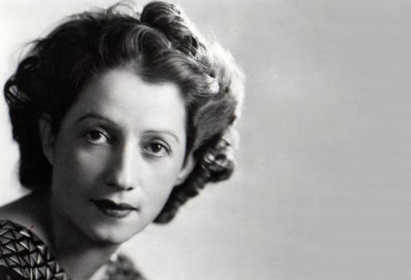 Consuelo de Saint Exupéry en 1942 en Montreal, donde había ido para reunirse con su esposo.