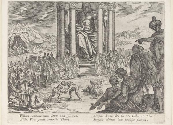 Maravilhas do Mundo Antigo: o desaparecimento da estátua de Zeus - 1