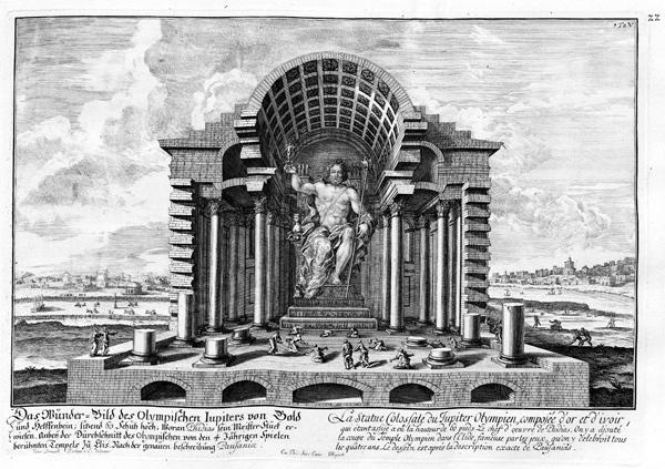 Maravilhas do Mundo Antigo: o desaparecimento da estátua de Zeus - 2