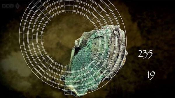 Imagen que refleja el modo en que el mecanismo Anticitera permitía predecir eclipses.