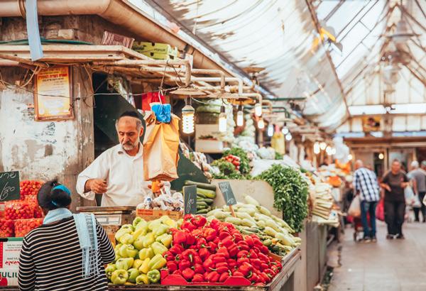 Mahane Yehuda mercado.