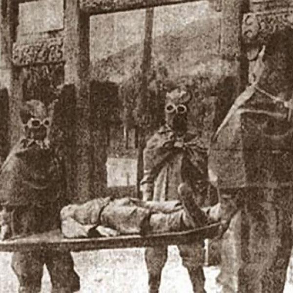 Experimento con armas químicas del Ejército Imperial japonés en el territorio de Manchuria