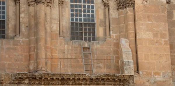 La escalera del Santo Sepulcro que no se mueve desde hace 3 siglos - 1