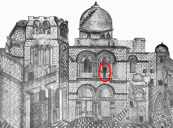 La escalera del Santo Sepulcro que no se mueve desde hace 3 siglos - 2