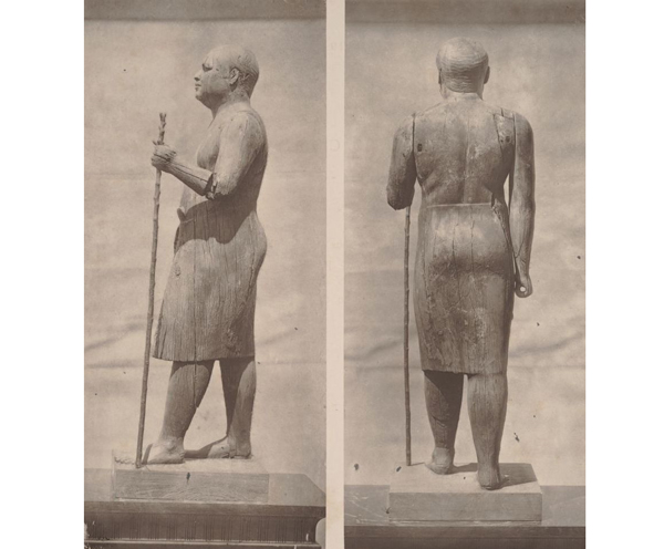 Antigua imagen de Ka-aper «El alcalde del pueblo».