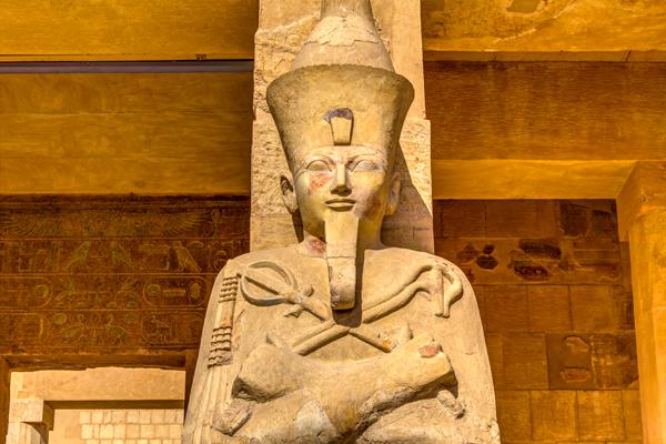Por qué las estatuas del Antiguo Egipto tienen las narices rotas - 3