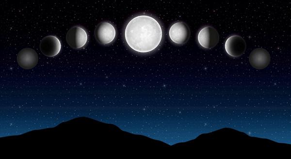 Las fases lunares podrían alterar el comportamiento y la salud - 1