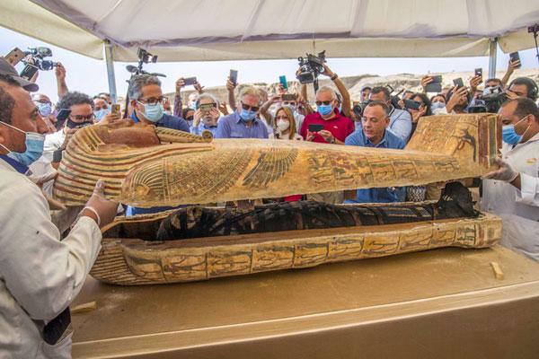 Sarcofagos.Egipcios