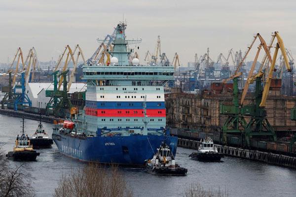 Barco Rusia
