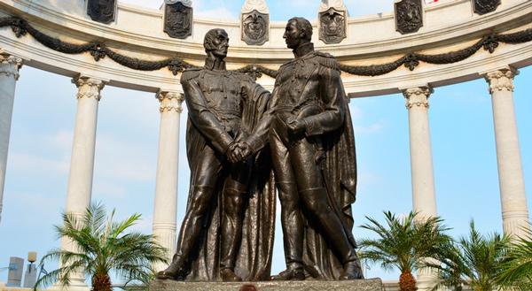 San Martín y Bolívar