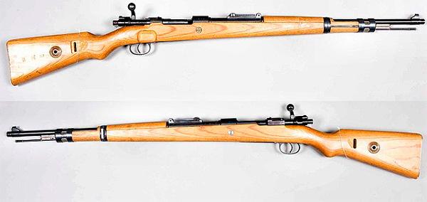 Imagen de un fusil Kar 98 K (Mauser Karabiner 98 Kurz)